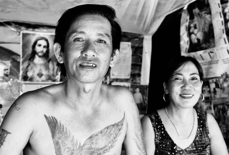Vợ chồng ông Lâm Văn Út