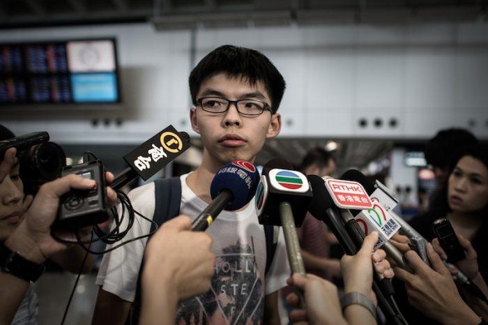 """Joshua Wong: """"Đấu tranh cho tôi được sống với đúng cái tên Kinh Thánh của mình!"""""""