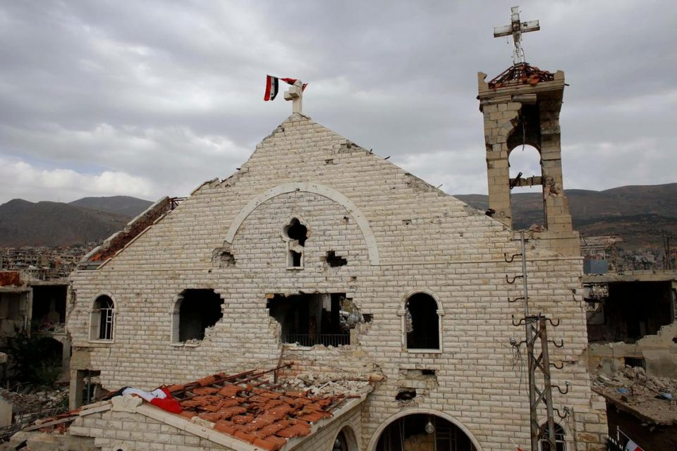 120 nhà thờ ở Syria