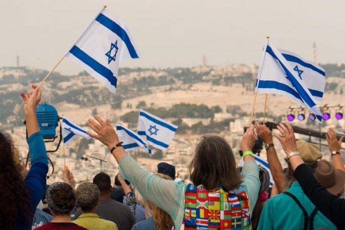 """""""Cầu xin an ninh đến trên Jerusalem..."""""""